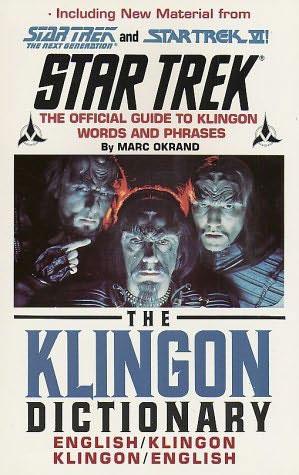 The Klingon Dictionary